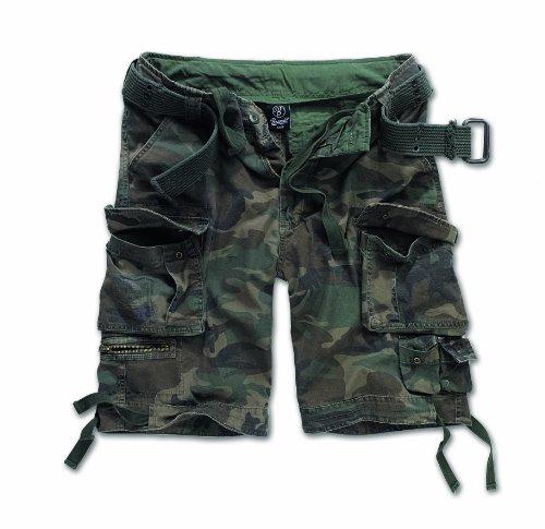 BRANDIT Pantaloni Bermuda uomo Cargo SAVAGE Short con Cintura (M)
