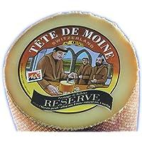 RESERVE Tete de Moine AOP Orig. Schweizer Mönchkopf Käse halber Laib ca. 400 g