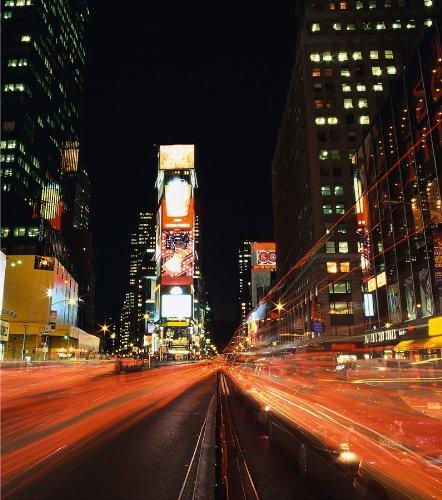 Wallpops Wandsticker, selbstklebend, Times Square fotografische Platten