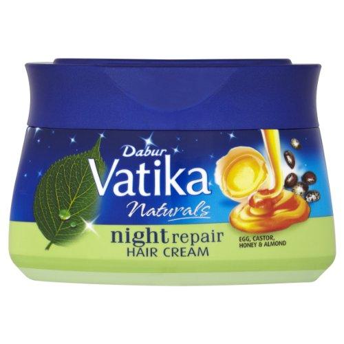 Dabur Vatika Naturals Night Repair Hair Cream 140 ml by Dabur (Repair Creme Intensive Night)