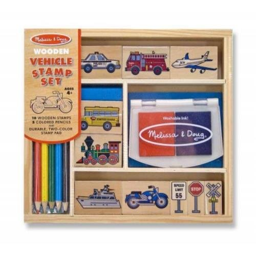 Preisvergleich Produktbild Vehicle Stamp Set: Arts & Crafts - Stamps