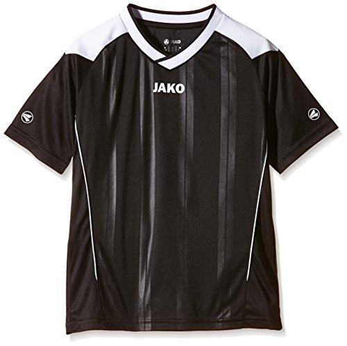 JAKO Kinder Fußballtrikots Copa KA, Schwarz/Weiß, 128
