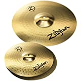 "Zildjian Planet Z PLZ1418 14"" and 18"" Cymbal Set, 3 Pack"