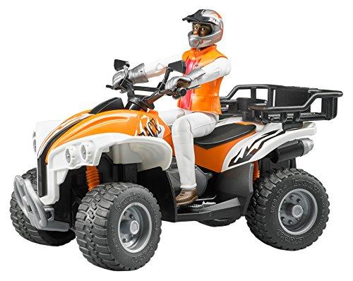 Bruder 63000 - Quad con conductor