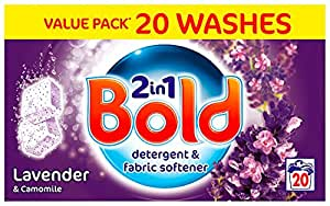 Bold Lavender and Camomile Laundry Detergent 40 Tablets (Pack of 4)