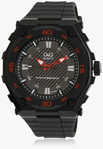 Q&Q Regular Analog Black Dial Men's Watch - GW79J002Y image