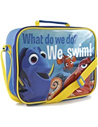 Kids Character Lunch Bag Insulated Cool Snack Box School Nursery Travel Bag