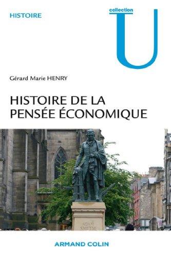 Lire Histoire de la pensée économique pdf, epub