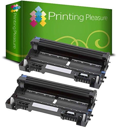 2er Set DR3100 / DR3200 Premium Trommel kompatibel für Brother MFC-8370DN, MFC-8380DN, MFC-8460, MFC-8460N, MFC-8860DN, MFC-8870DW, MFC-8880DN, MFC-8890DW, DCP-8060, DCP-8065DN, DCP-8070D, DCP-8085DN, HL-5240, HL-5240L, HL-5250, HL-5250D, HL-5250DN, HL-5270DN, HL-5270DN2LT, HL-5280DW, HL-5340D, HL-5350DN, HL-5350DNLT, HL-5370DW, HL-5380DN