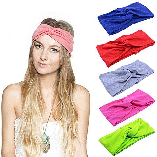 HBF 8 stk mehrfarbig Kopfband Haarspange Fliege Schleife für (Diy Damen Rosa Kostüme)