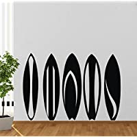 Colorfulhall 55x 80cm sport giocatore di tavole da surf surfing Surfer Wall Decal Sticker graffiti Art by Colorfulhall