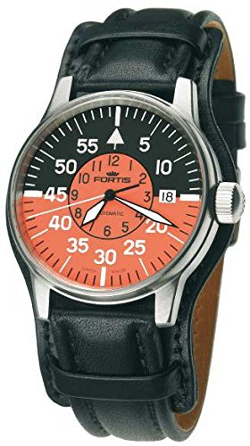 Fortis Flieger Cockpit 595.11.13L01 Automatic Mens Watch Excellent readability