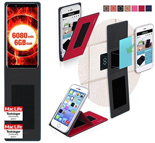 reboon Hülle für Ulefone Power 3 Tasche Cover Case Bumper   Rot   Testsieger