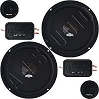 Kenwood DSK 165.3 - Altavoces para coche (2 vías, 80 W, 165 mm, RMS)