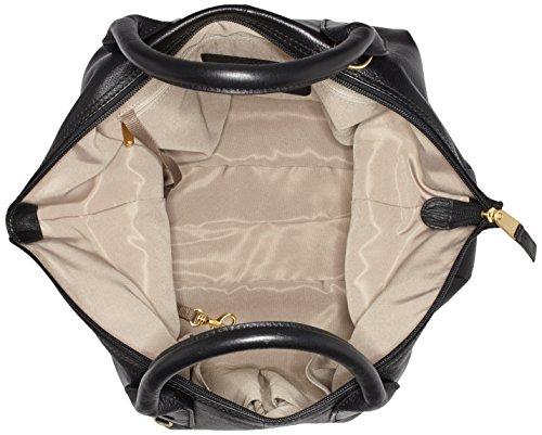 Bree Jersey 4 Sac à main cuir 38 cm Schwarz (Black)