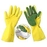 Engdash Latex-Handschuhe für die Küche, Reinigungsschüssel, Wäsche, Gummi, wasserfest