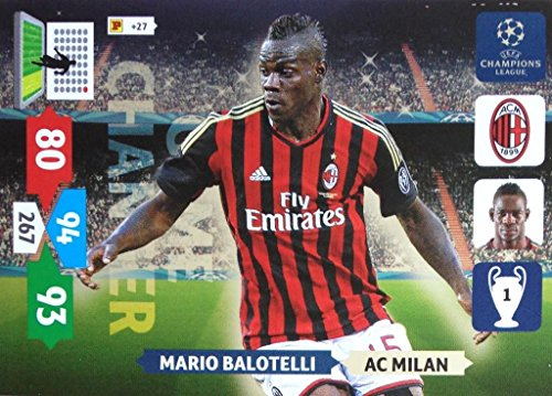 Champions League Adrenalyn XL 2013/2014 Mario Balotelli 13/14 Game Changer