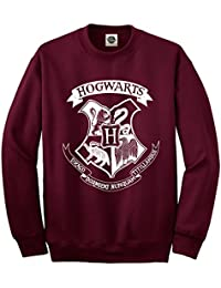 Hogwarts Logo Unisex Sudadera – Harry Potter Hogwarts School of Witch Craft  ... d25033e7c801b