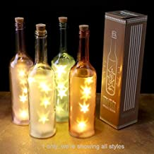 Amazon.es: botella cristal decorativa - 3 estrellas y más