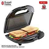 Russell hobbs rst750gr 750 watt Non-Stick Crispy Grill Sandwich Toaster for Multi Snacks with Fixed Grilled Plate and 2 Years Warranty