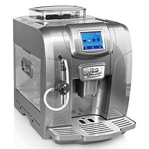 Cafe Bonitas - Nouveau Modèle 2013 - Machine À Café Automatique Écran Tactile Minuteur Hebdomadaire 19 Bars - Réservoir De 2,0L - Greystar Espresso Latte Macchiato