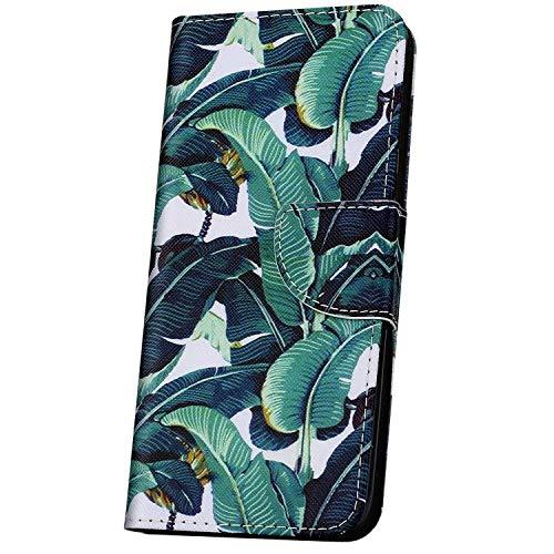 JAWSEU Funda Libro Compatible con Samsung Galaxy A70, Carcasa Billetera PU Cuero Flip Soporte Funda con Diseño Ranuras para Tarjetas Cierre Magnético Completa Protectora Cubierta Funda,Verdes