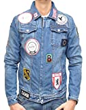 Be Edgy - RAVE DENIM PATCH - Jeansjacke - indigo - Be Edgy - M17285I - S, Blau