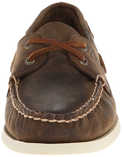 Sperry Top-Sider A/O 2-eye, Chaussures bateau femme Brown Distressed