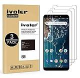 iVoler [3 Pack] Pellicola Vetro Temperato per Xiaomi Mi A2 [Garanzia a Vita], Pellicola Protettiva, Protezione per Schermo