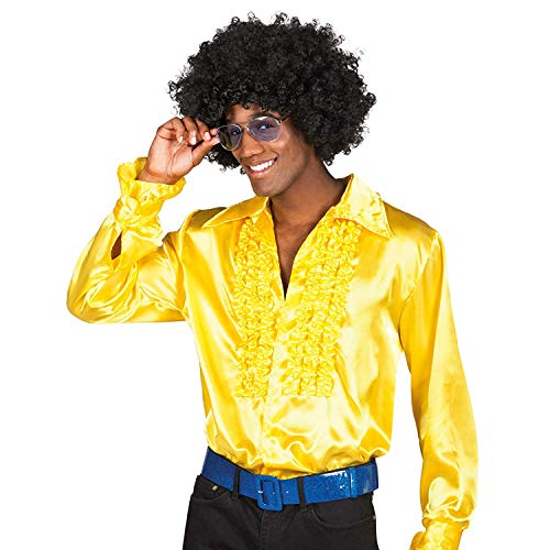 Boland Hemd, Farbe gelb, 2134 (Disco Dance Show Kostüm)