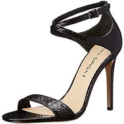 Via Spiga Women's Tiara Dress Pump, Black, 8 M US
