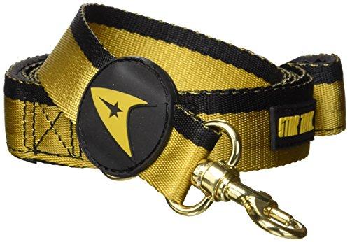 Star Trek Pet Gold Uniform Leash - 10 Home Uniform