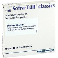 Sofra-Tüll classics 10 cm x 10 cm Abschnitte Salbenkompressen, 10 St. preisvergleich bei billige-tabletten.eu