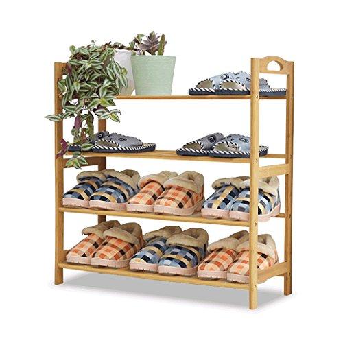 Schuh-speicher-bank (Regal im Wohnzimmer Schlafzimmer Küche Schuh-Rack Wooden Lagerung Bambus Schuh Rack Bank Speicher Organizer 70 * 25,5 * 70CM Für 12 Paare Dekoration Rack YYJRR-Eckregale)