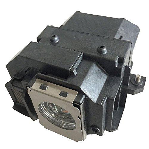 kompatibel mit Elplp54 Fit f/ür EX31 // EX71 // EX51 // EB-S72 // EB-X72 // EB-S7 // EB-X7 // EB-W7 // EB-S82 // EB-S8 // EB-X8 // EB-W8 // EB-X8e MEHRWEG Supermait EP54 Ersatzprojektorlampe mit Geh/äuse