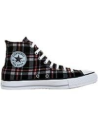 1592e5e266428 Converse All Star Chucks Plaid Grau Kariert Grunge HI Kariert Limited  Edition Größe  35 UK