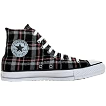 4bb39f1664b3ec CONVERSE ALL STAR CHUCKS Plaid Grau Kariert
