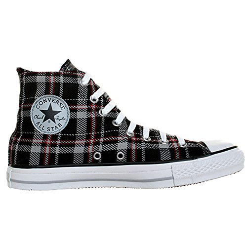 Converse Plaid Sneakers (Converse All Star Chucks Plaid Grau Kariert Grunge HI Kariert Limited Edition Größe: 35 UK: 3 Bestellnummer: 105805)