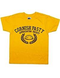 Balcony Shirts 'Cornish Pasty Appreciation Society' Kids T Shirt