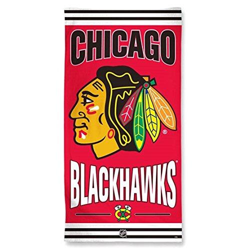 NHL Chicago Blackhawks Strandtuch, Team Farbe, eine Größe
