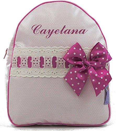 Nachrichten, Meinem Die In Konto (BORDAYMAS/ Babyrucksack Kindergartenrucksack Kindergartentasche Backpack mit Namen personalisiert in PINK Kunststoff und DETAILS beige MAGENTA)
