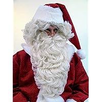 Weihnachtsmann gigantischer Rauschebart Lockenbart Nikolaus Bart