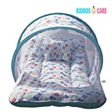 KiddosCare Toddler Mattress with Mosquit...