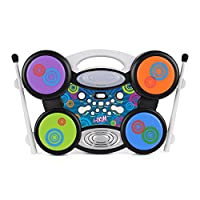 Toyrific Electric Drum Kit - Kids I-Drum with MP3 Connection