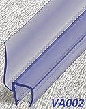 Duschdichtung 120 cm - für 6 mm Glas - Wasserabweiser Ersatzdichtung Duschprofil Duschtürdichtung Lippe. In unserem Shop finden Sie alle gängigen Formen für 6-10mm Glas