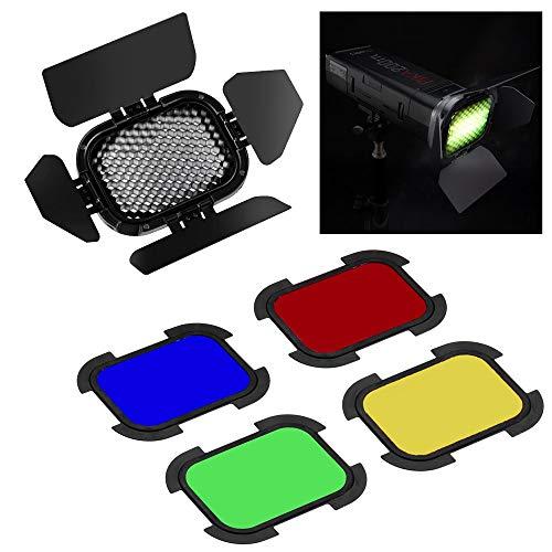 Abschirmklappen Set für Pixapro pika200Pocket Flash Adorama Kit