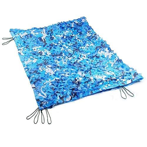 Tarnnetz GR, Marine Blue Camouflage Net kann für School Pool Dekoration Schatten (Größe: 6x9m) verwendet Werden Armee Tarnnetz (größe : 10x10m) ()