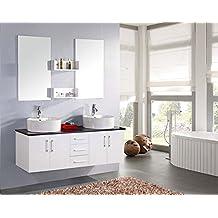 Suchergebnis auf Amazon.de für: Waschtisch 150 Cm | {Doppelwaschtisch mit unterschrank 150 66}