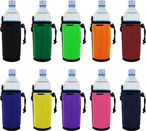 Blanko Neopren Wasser Flasche Coolie (S) mit Full unten verschieden