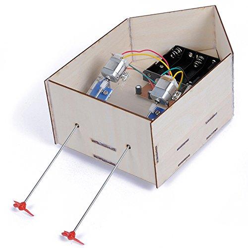 Kit Roboter-hand (Goolsky Krabben Königreich Solar Panel Quadruped Roboter DIY Hand montiert pädagogisches Ausrüstung Kit Spielzeug)